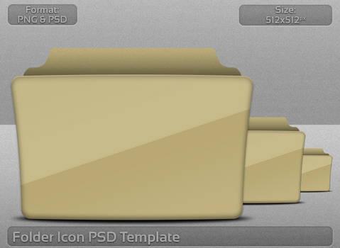 Folder Icon PSD Template