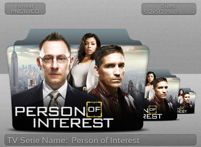 Person of Interest - Tv Serie Folder Icon by atty12