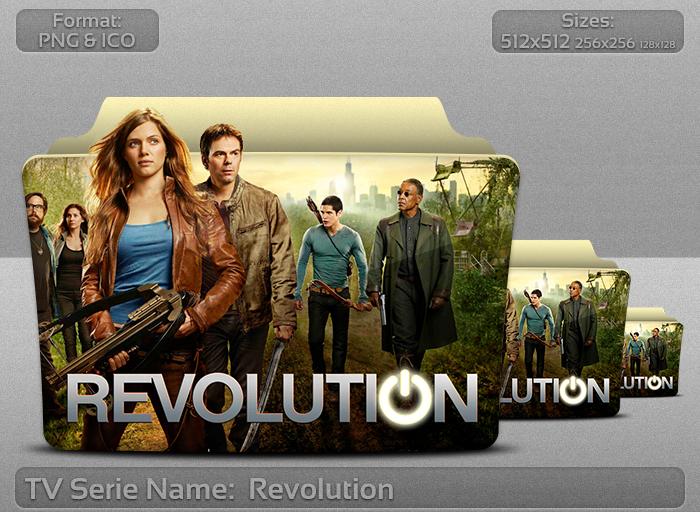 Revolution - Tv Series Folder Icon by atty12
