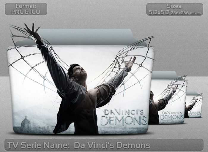 Da Vinci's Demons - Tv Series Folder Icon by atty12