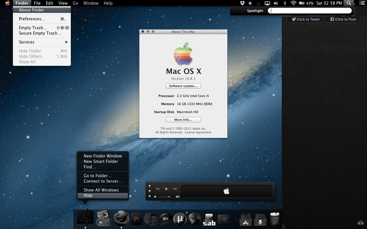 Black OSX Mountain Lion by FURBY8704