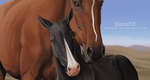 When horses come to life [ANIMATION] by EmmaVZ