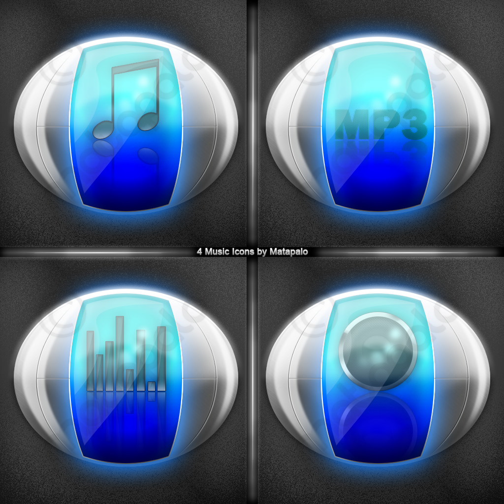 Music Icon Pack - download now by Matapalo