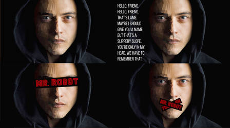 Mr Robot - Four Walls - OC - [1920x1080] by m4gichat