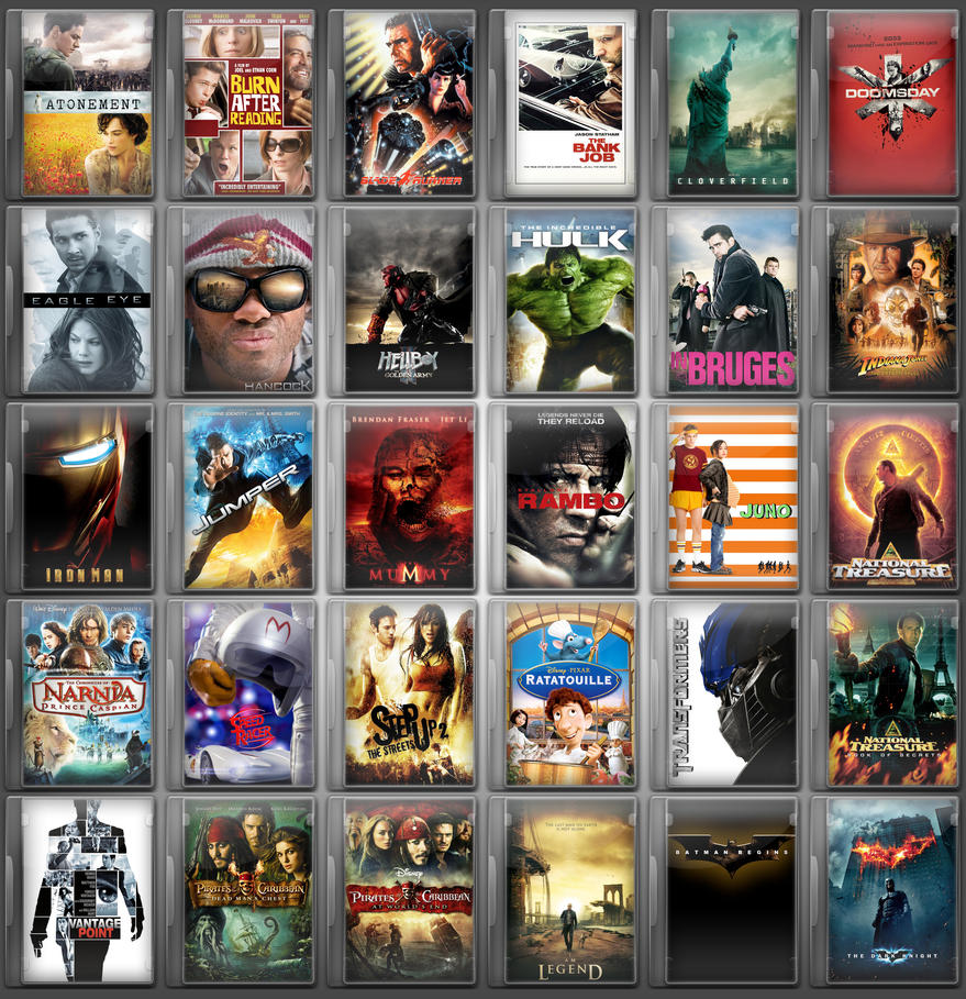DVD ICONS by philipskillern