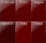6 seamless background patterns