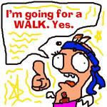 HuntaKilla goes for a WALK