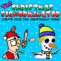 The Christmas Sigworminator by Splapp-me-do