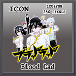 Blood Lad v02 Anime Icon Myk