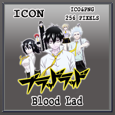 Blood Lad v02 Anime Icon Myk by Myk-2103