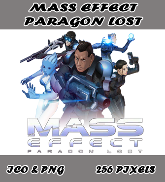 Mass Effect Paragon Lost Icon Myk By Myk 2103 On Deviantart