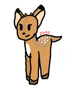Deer Fawn by DragonWolfGirl2