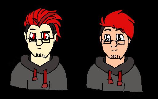 Mark and Dark by DragonWolfGirl2