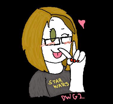 Me, DragonWolfGirl2 by DragonWolfGirl2