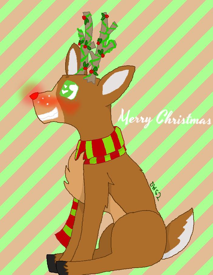 Merry Christmas 2016! by DragonWolfGirl2