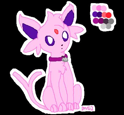 Pokemon #196 by DragonWolfGirl2