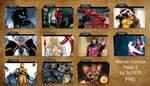 Marvel Comics Folder Pack 3