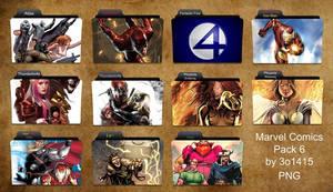 Marvel Comics Folder Pack 6