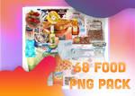 68 FOOD PNGS PACK.
