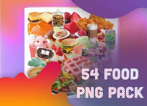54pcs FOOD PNGPACK bygaothichanco