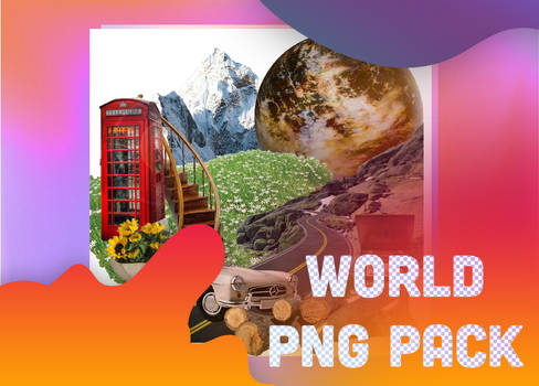 WORLD PNG PACK.