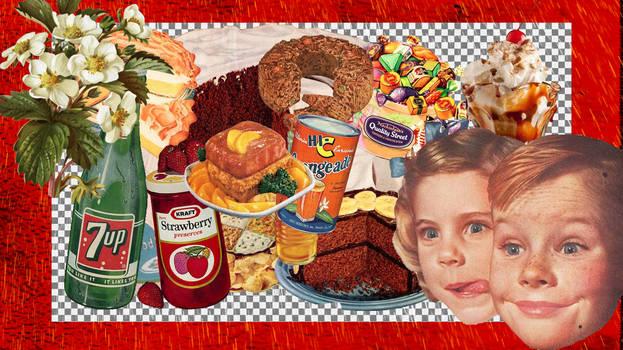 VINTAGE FOOD PNGS PACK 2.