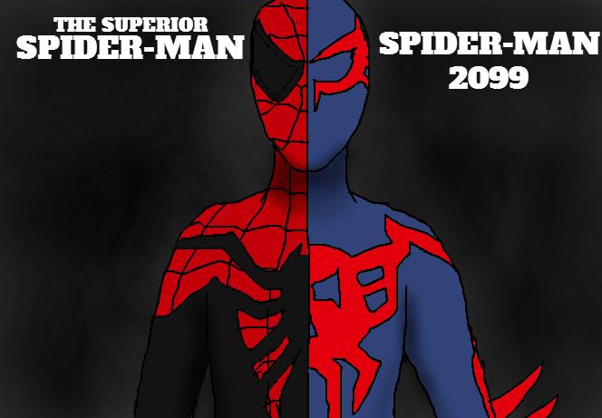 The Superior Spider-Man/Spider-Man 2099, Wallpaper By