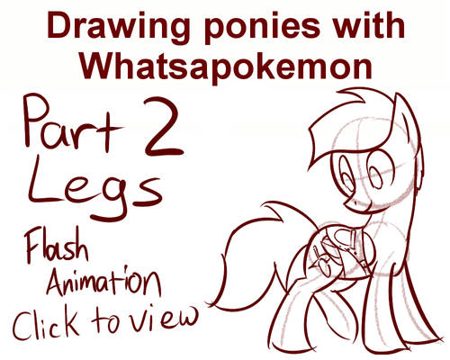 Drawing Ponies with Whatsapokemon, Legs