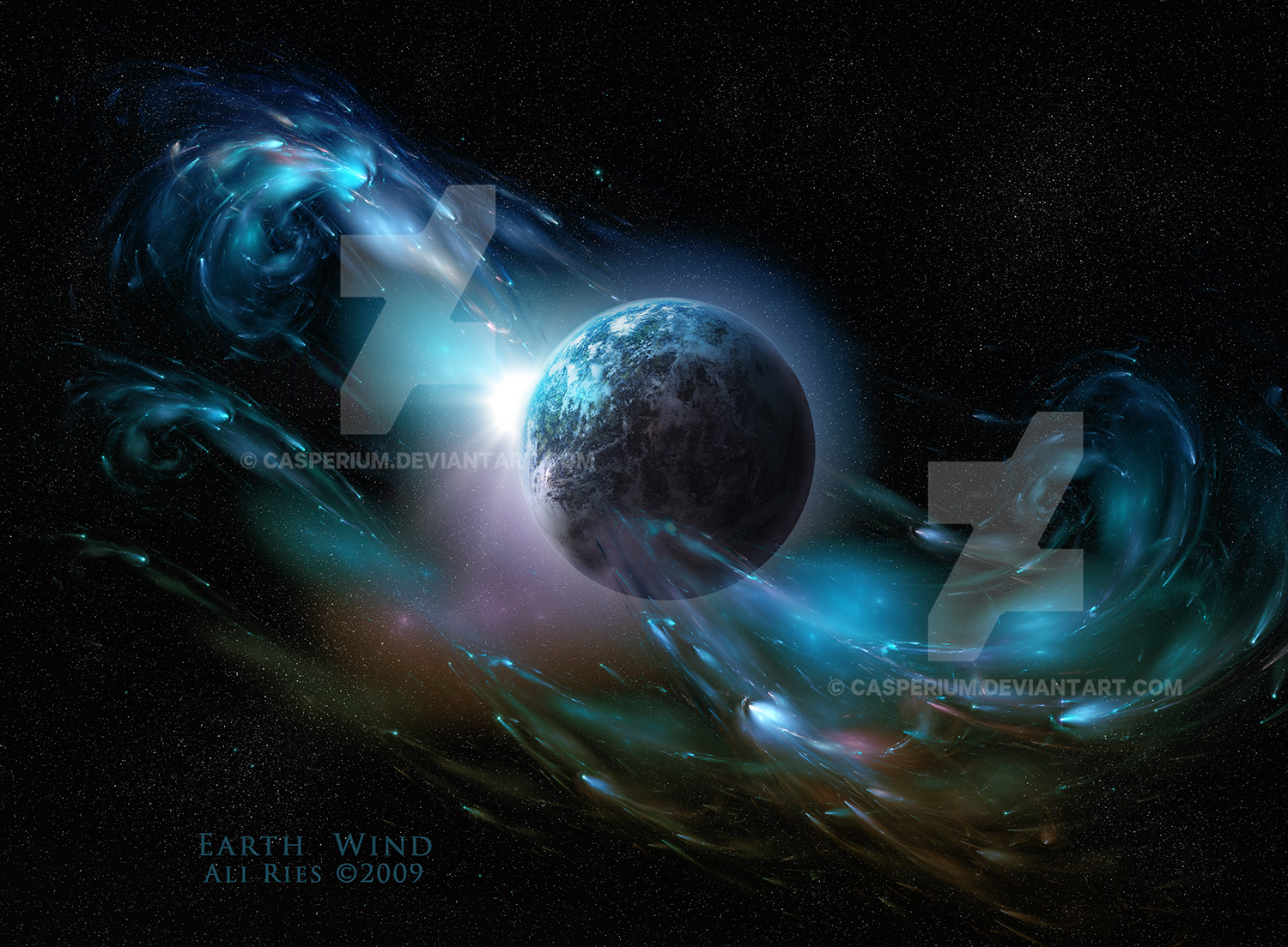 Earth Wind by Ali Ries 2009