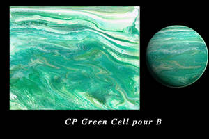 green cell pour B by Casperium