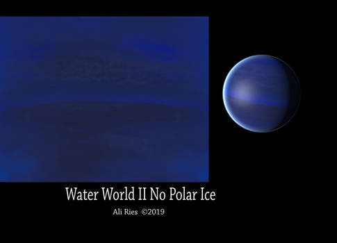 Water World 2 No Polar Ice by Ali Ries 2019