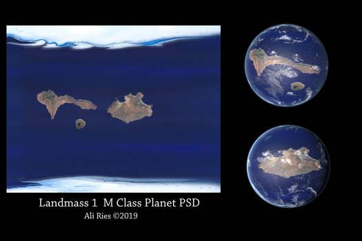 Landmass 1 M Class by Ali Ries 2019