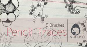 Pencil Traces - Brush Set