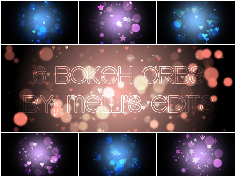 6 BOKEH ORBS (1280 x 720) - MELLI'S EDITS by MellisEdits