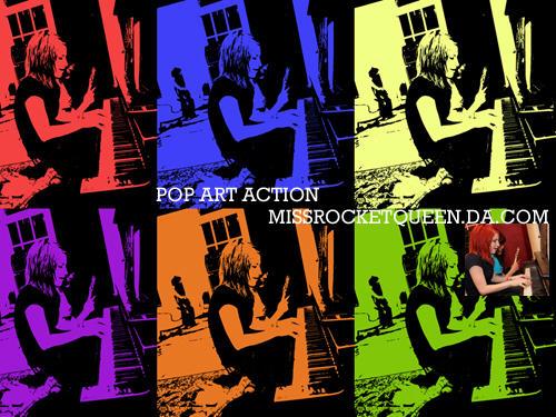 Pop Art Action by missrocketqueen
