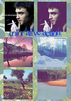Colour alive action