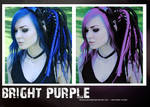 Bright purple PS action