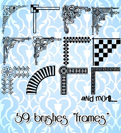 Frames Brushes
