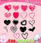 San Valentin Brushes 1
