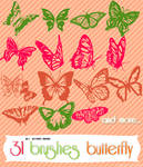 Butterflu Brushes