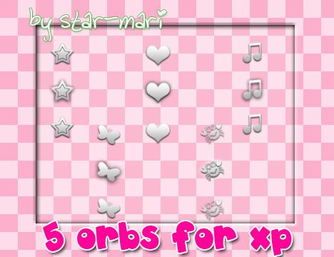 Orbs for xp by star-mari