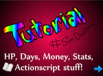 Flash Sim Dating Tutorial (HP, Days, etc)