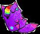 Purples a plushie x3 by bunnygirlcuty