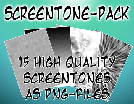 Screentone-Pack