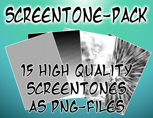 Screentone-Pack by Dea-89