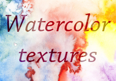 6 HighRes Watercolortextures by Deamond-89