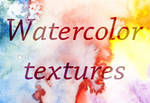 6 HighRes Watercolortextures