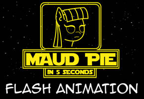 Maud Pie In 5 Seconds by klystron2010