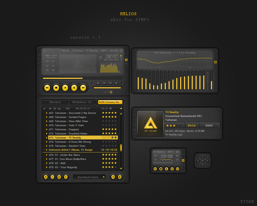 Helios 1.1 by Zigar
