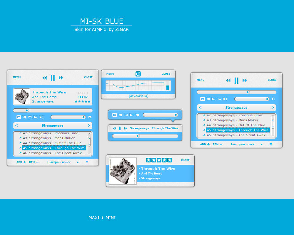 MI-SK (Blue) by Zigar